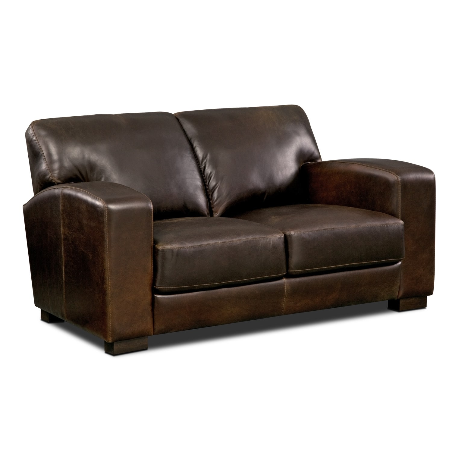 Grayson Leather 3 Pc Living Room Value City Furniture