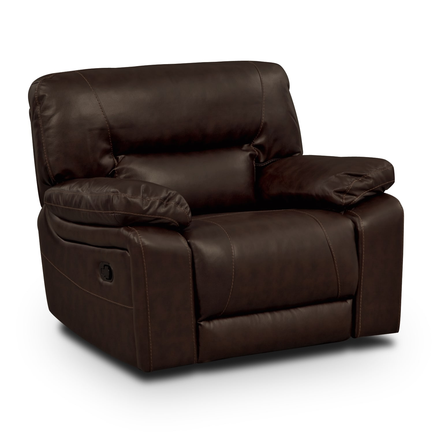 Living Room Furniture - Durango Godiva Glider Recliner