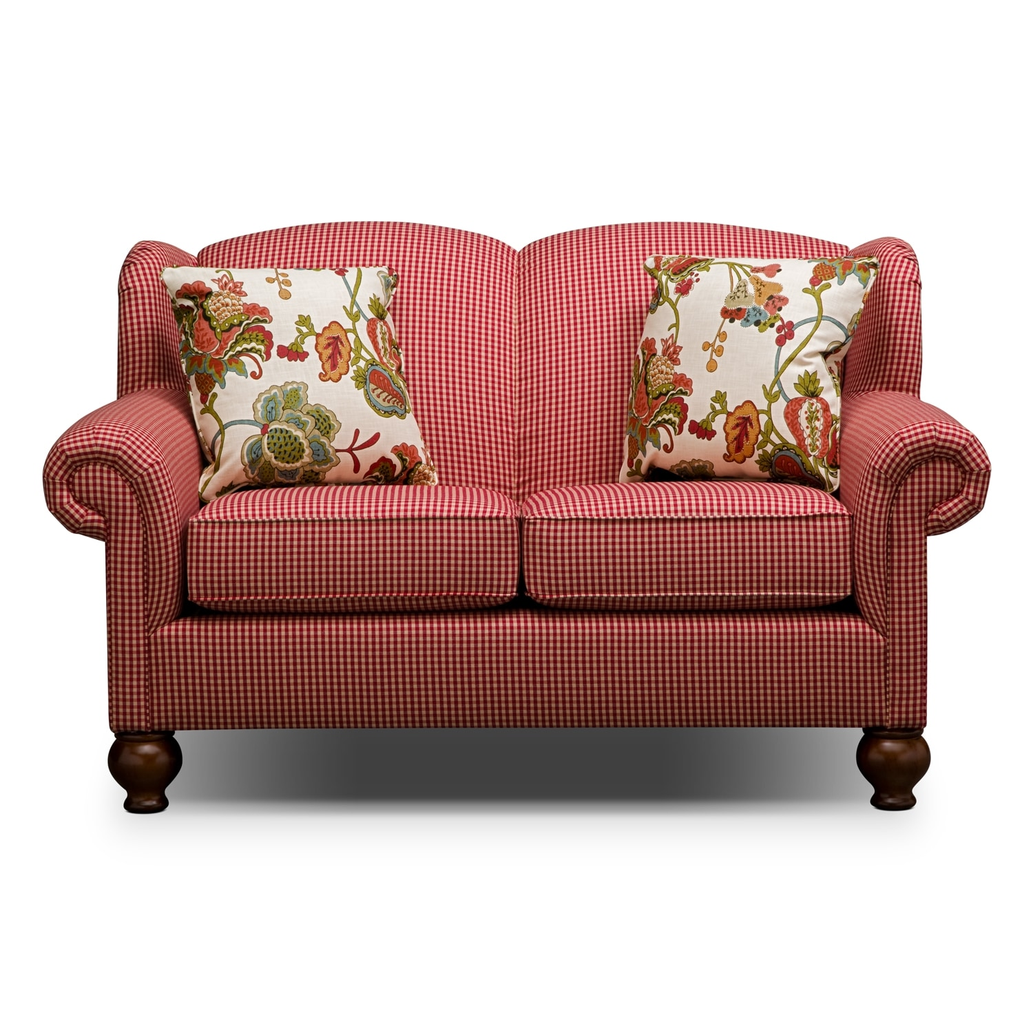 Gingham Sofa Country Cottage Sofas Foter TheSofa