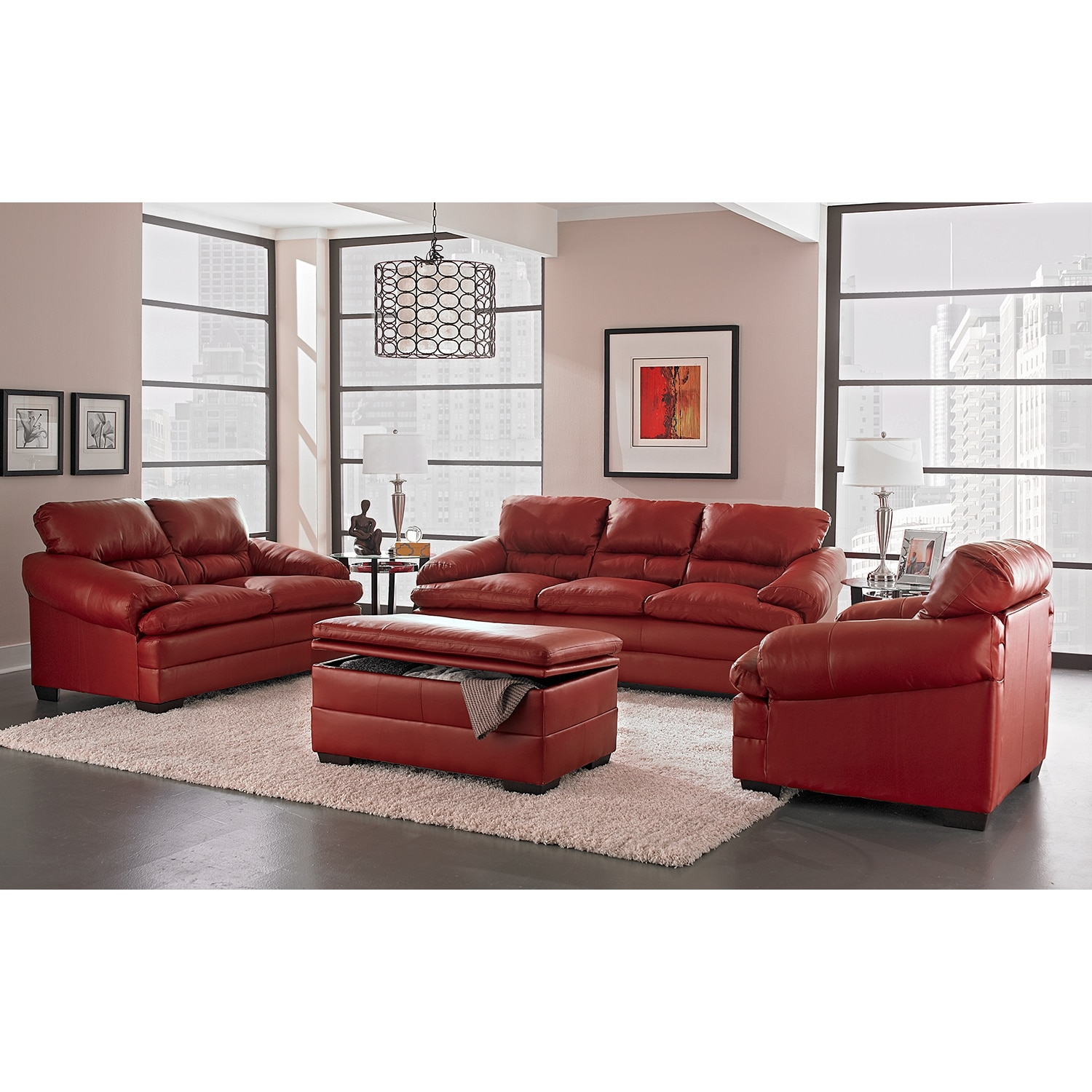 value city furniture leather living room sets modern house