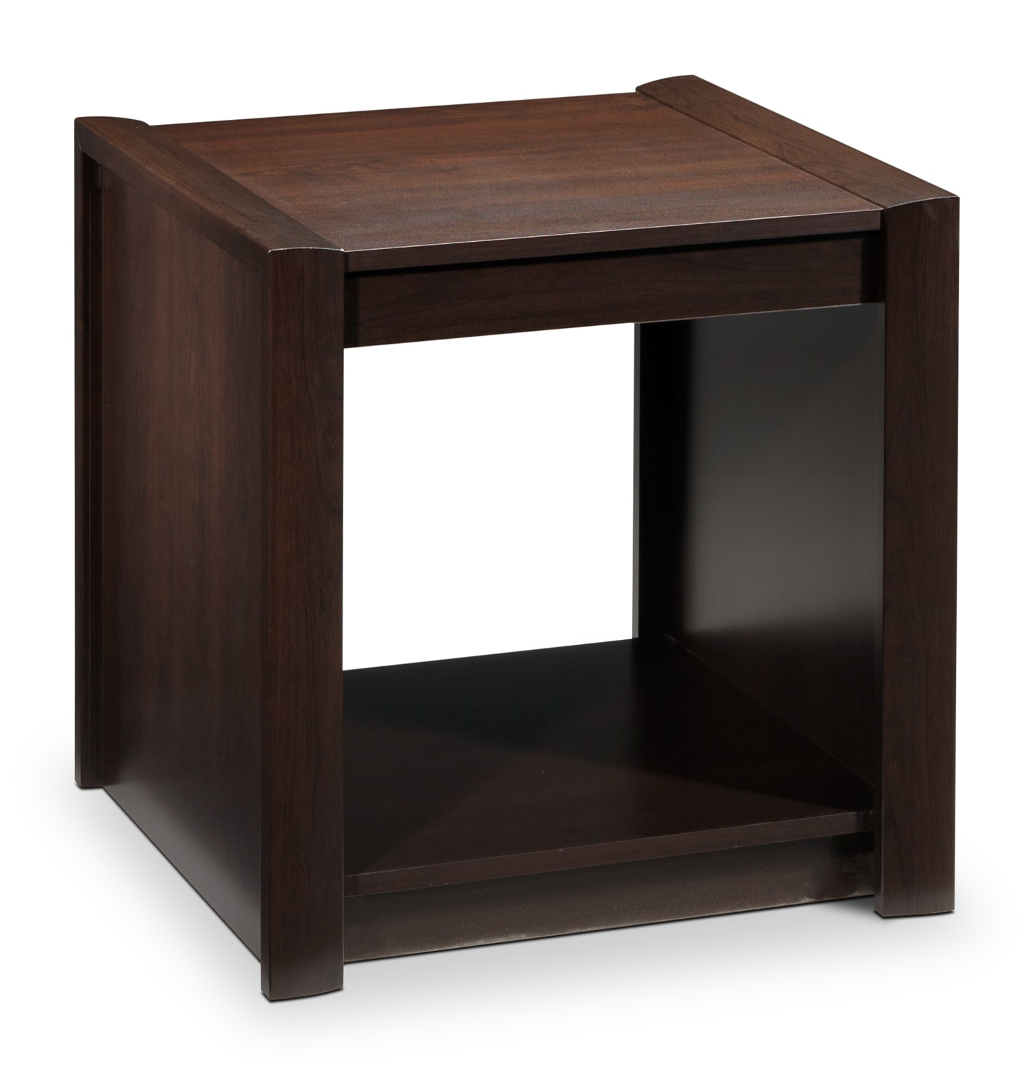 Toffee End Table - Maple Java