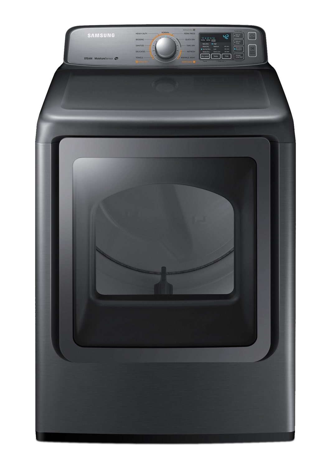 Washers and Dryers - Samsung Dryer (7.3 Cu. Ft.) DV45H7400EP/AC