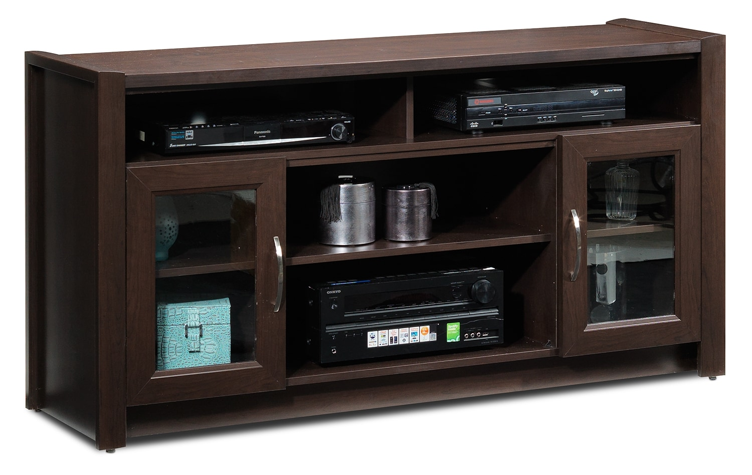 Entertainment Furniture - Newton TV Console - Java