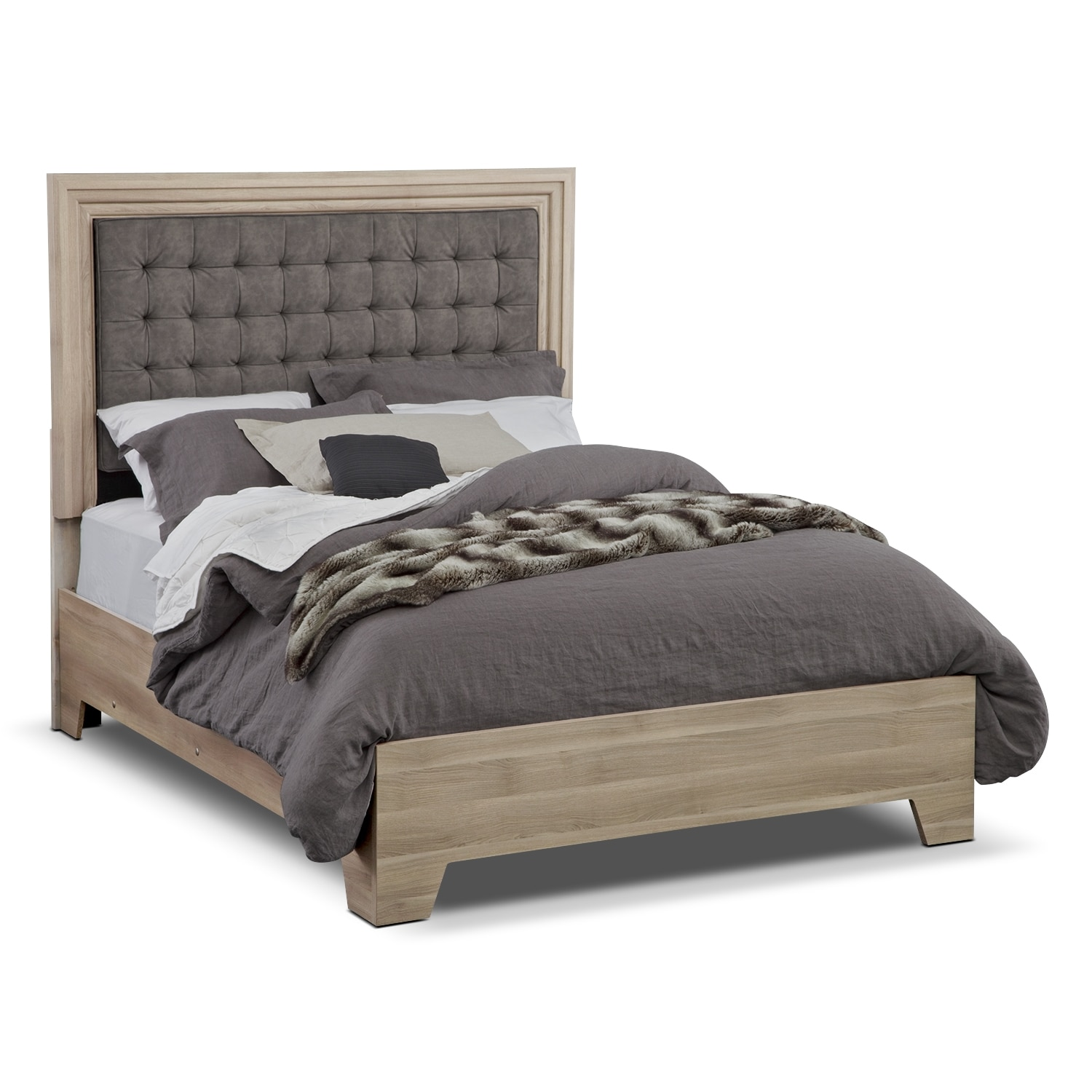 bedroom furniture siena queen bed