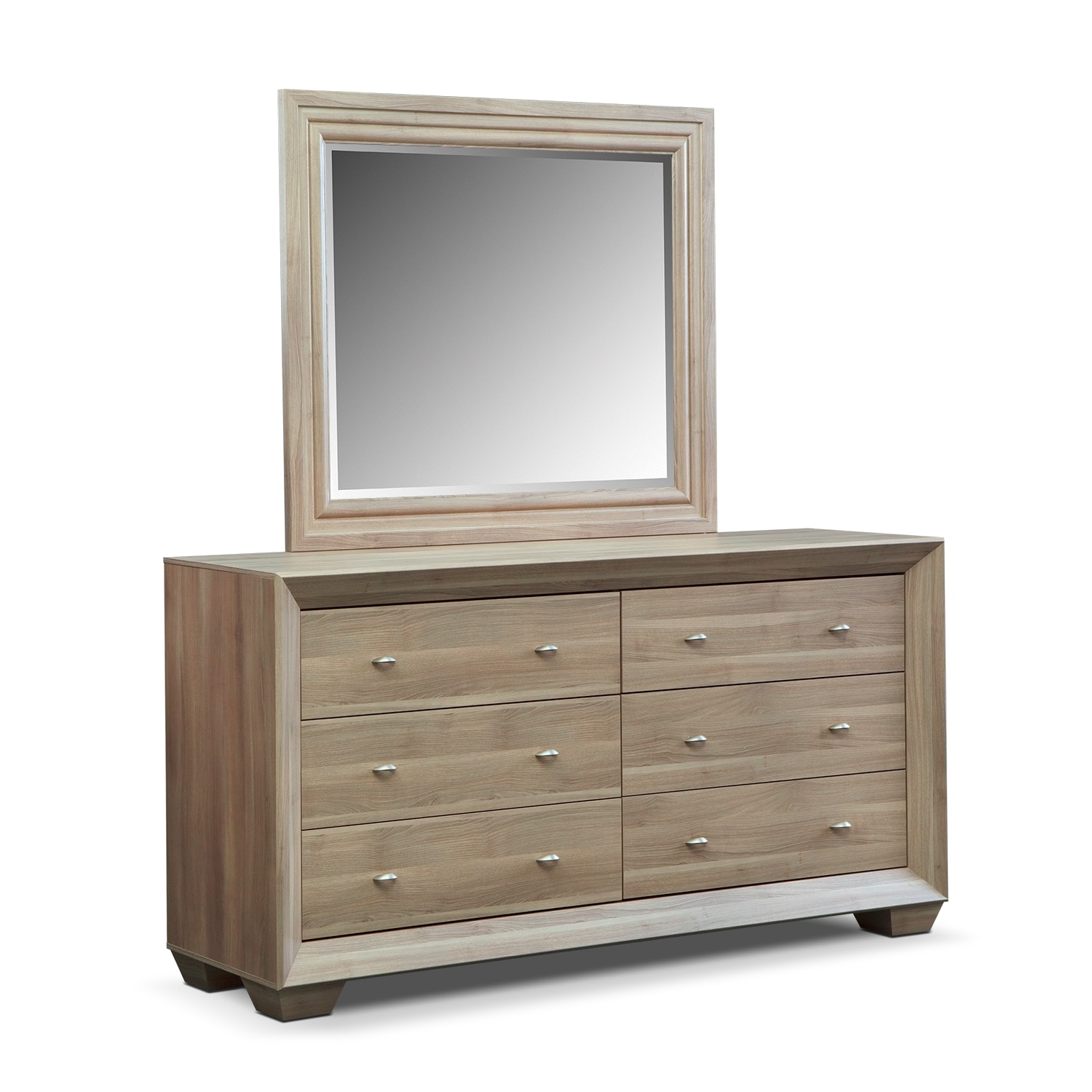 Bedroom Mirrors : Siena Bedroom Dresser & Mirror - Value City Furniture