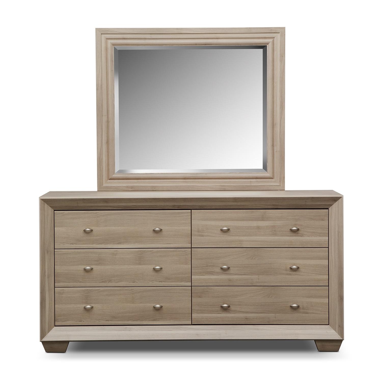 bedroom furniture siena dresser mirror