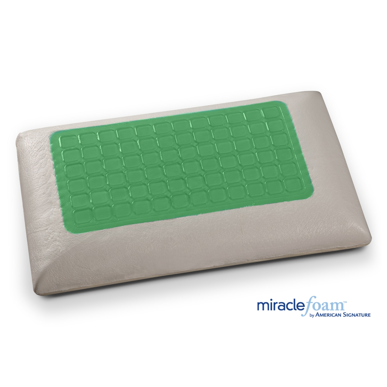 [Gel Memory Foam Gel Traditional Pillow]