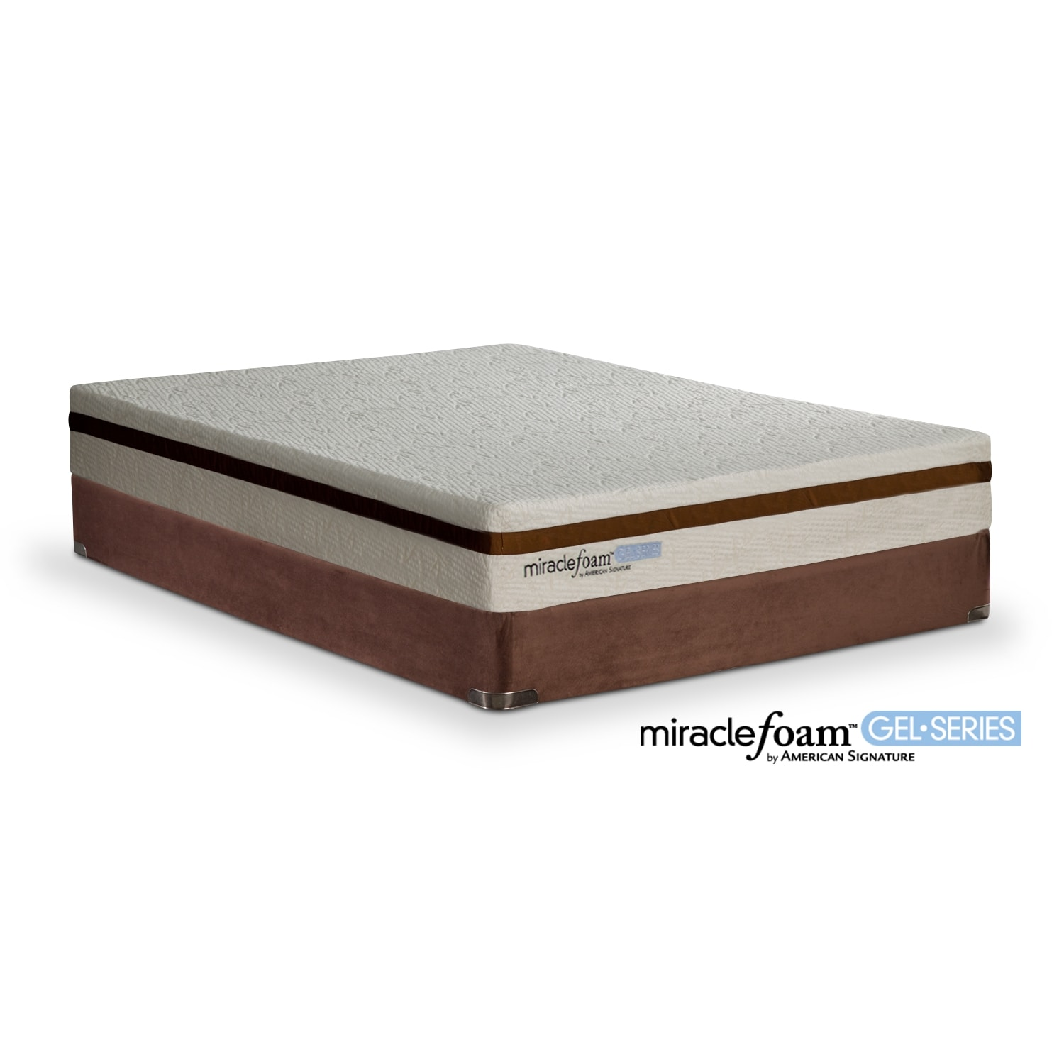 Value city furniture Queen bed and mattress