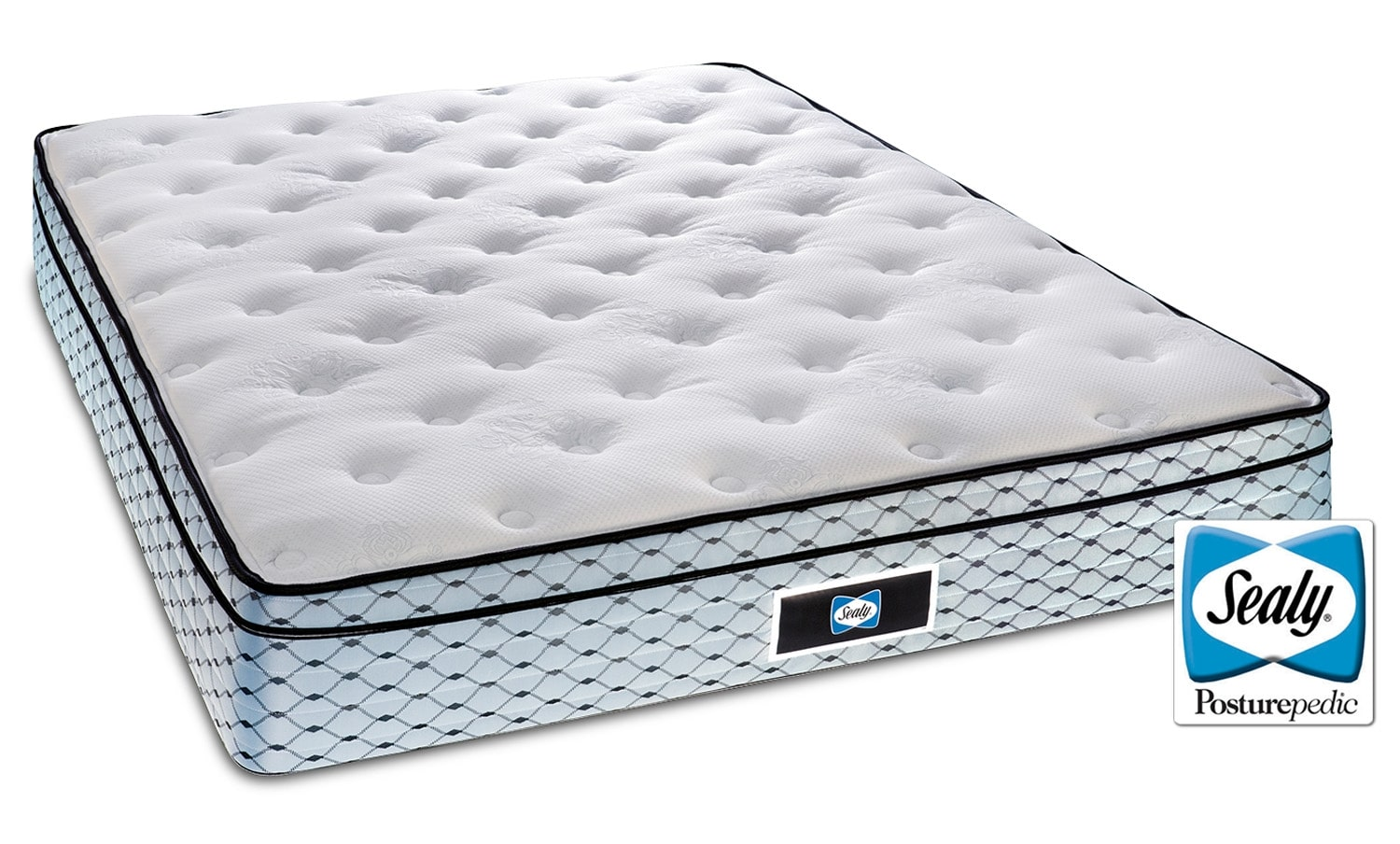 Mattresses and Bedding - Sealy Halo Cushion Firm Full Mattress