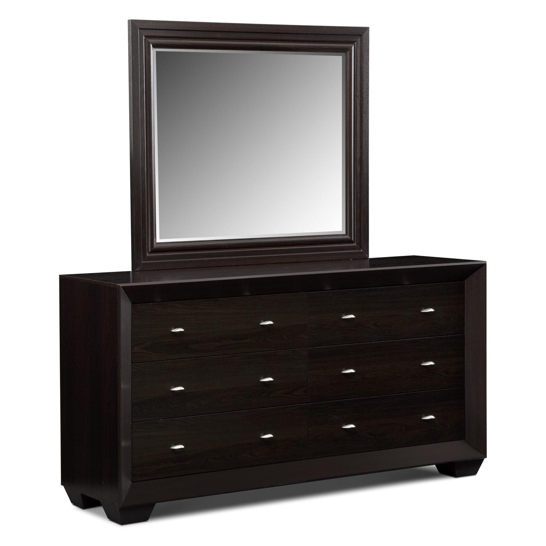 bedroom furniture siena ii dresser mirror