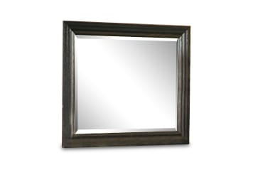 Bedroom Furniture - Einstein Mirror - Dark Brown