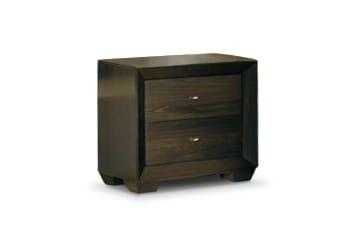 Bedroom Furniture - Einstein Night Table - Dark Brown