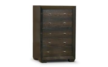 Bedroom Furniture - Einstein Chest - Dark Brown