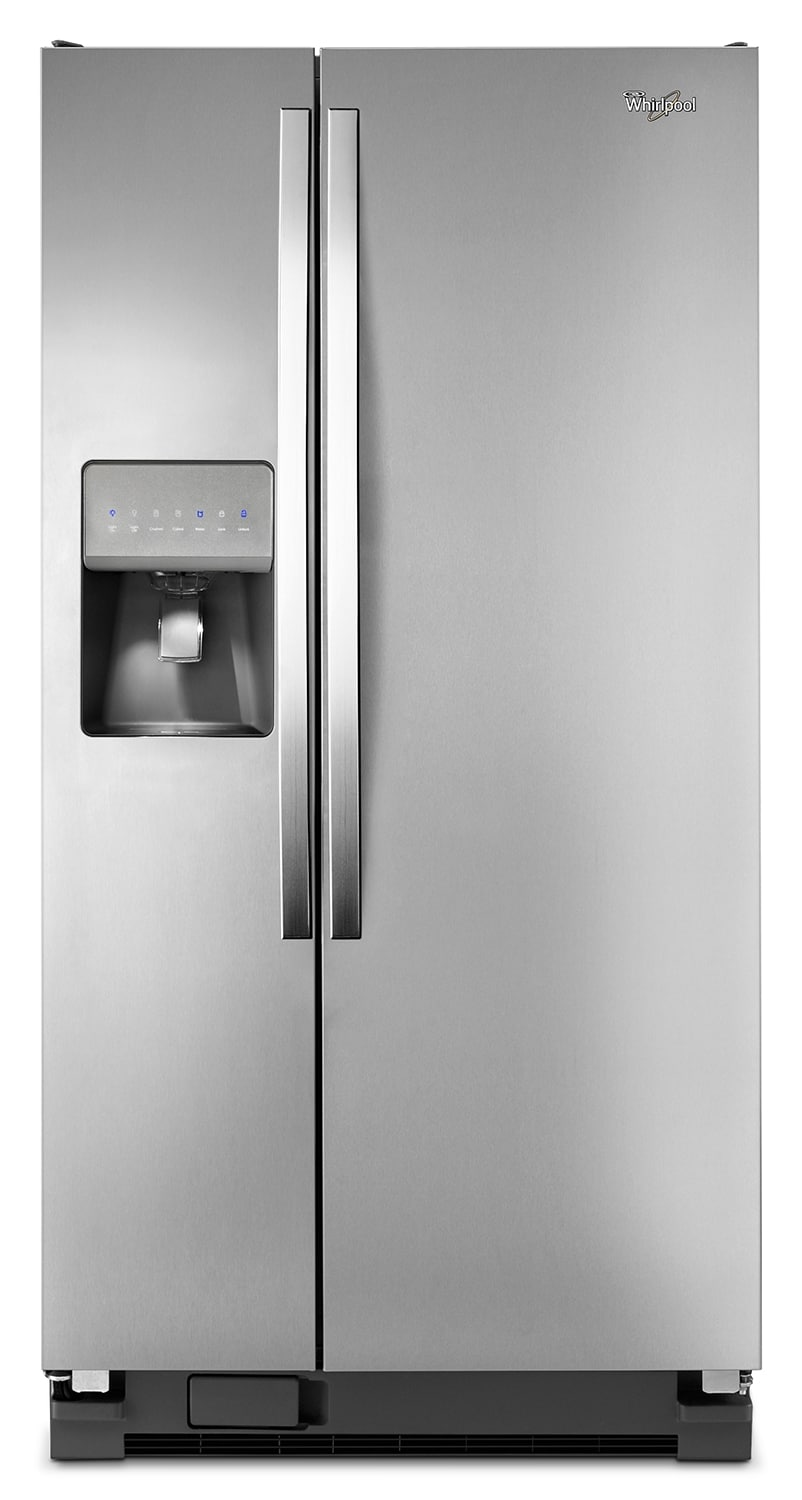 Refrigerators and Freezers - Whirlpool 21 Cu. Ft. Side-by-Side Refrigerator – WRS322FDAM