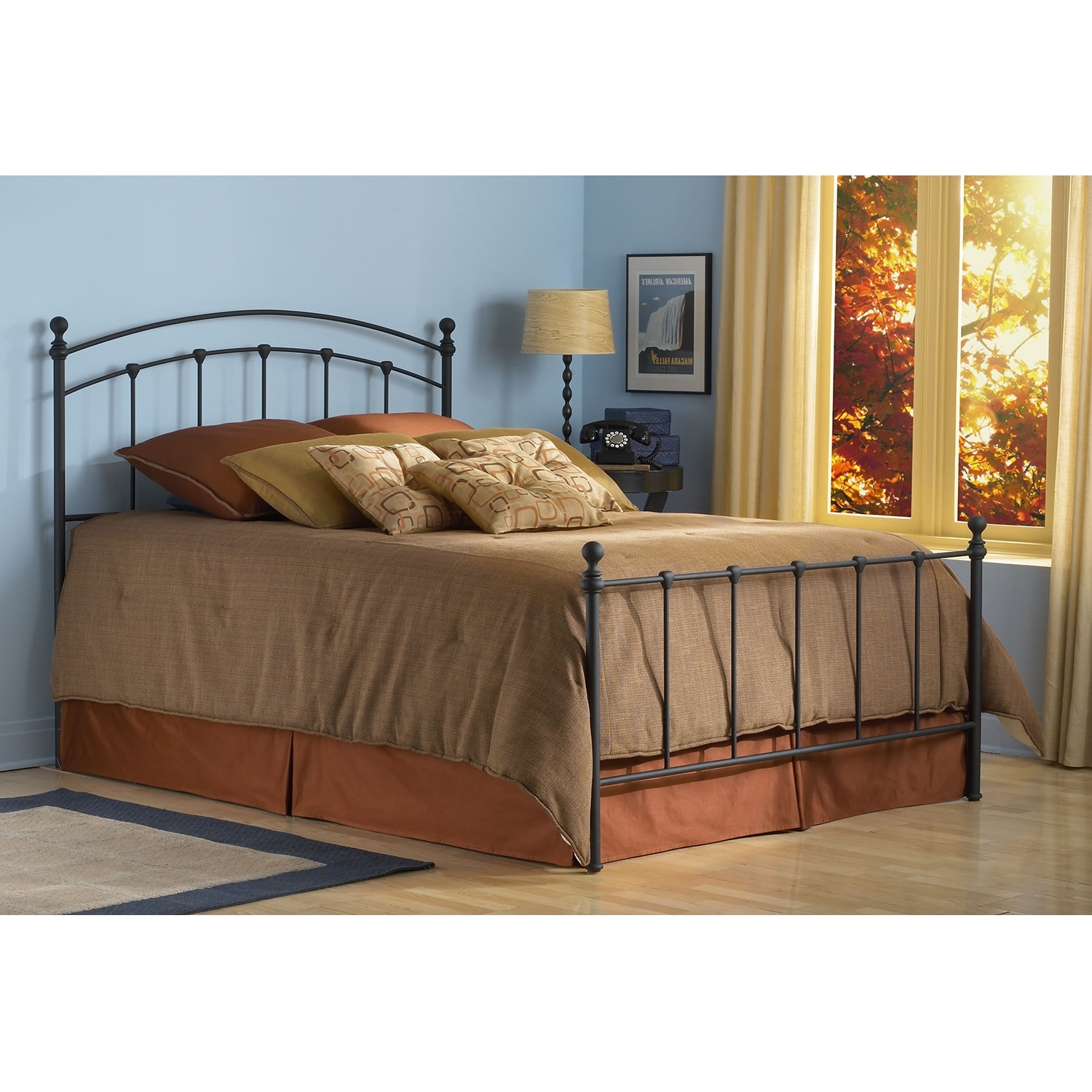 Bedroom Furniture - Sanford Queen Bed