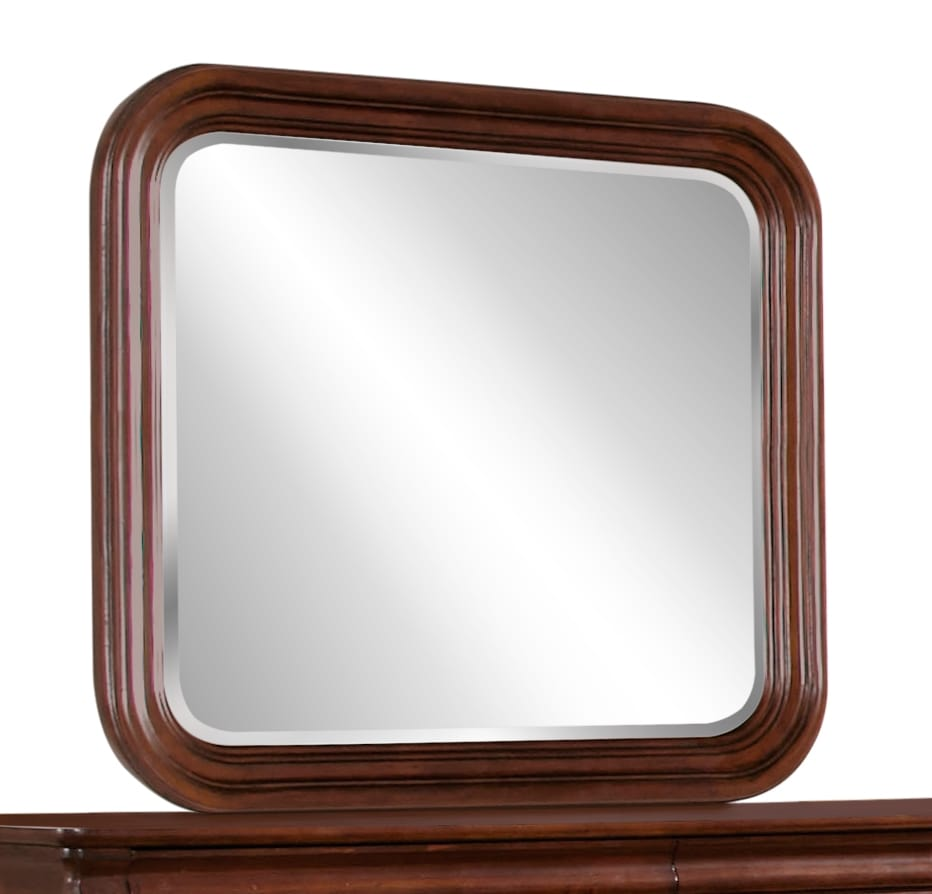 Bedroom Furniture - Carriage Court Mirror - Mahogany