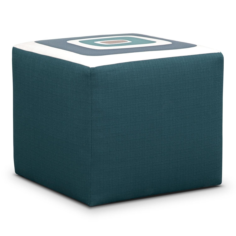 [Kismet Cube Ottoman]