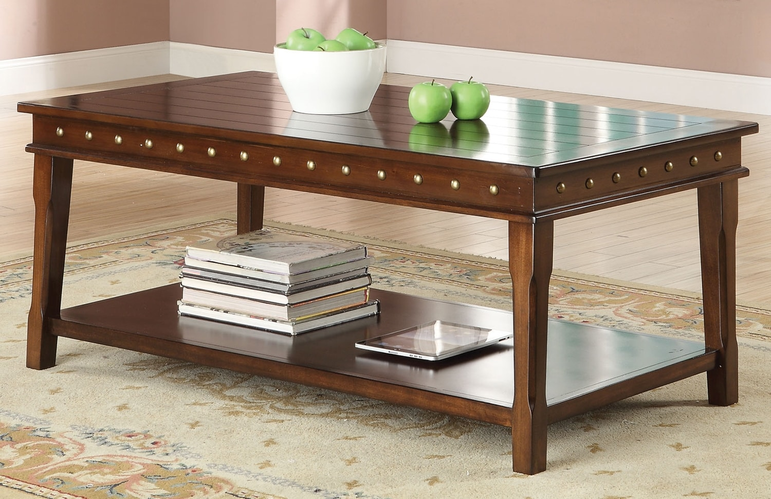 Mitra Coffee Table - Walnut