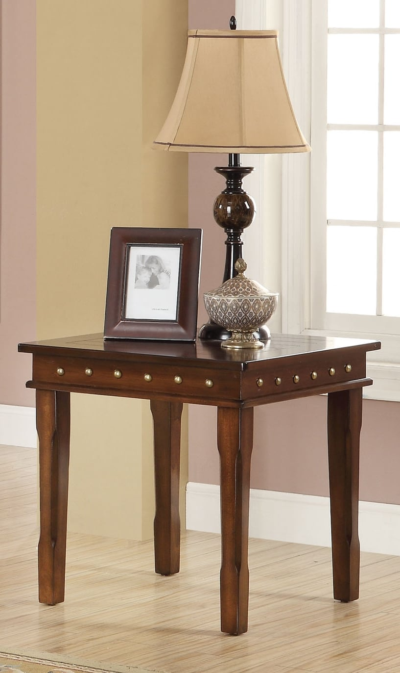 Accent and Occasional Furniture - Mitra End Table - Walnut