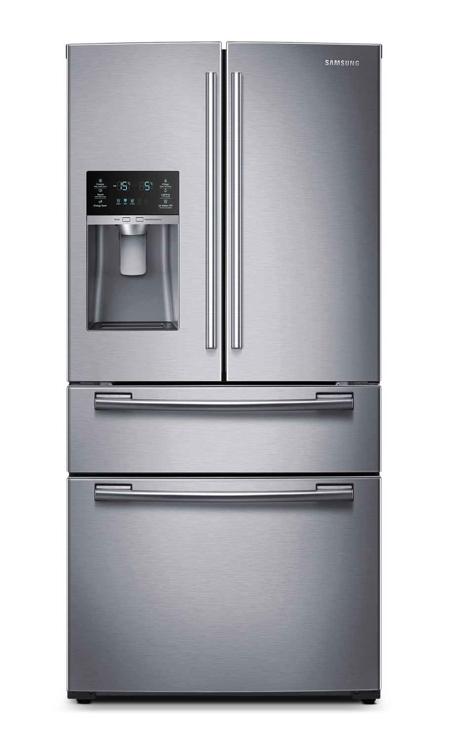 Refrigerators and Freezers - Samsung Stainless Steel French Door Refrigerator (25 Cu. Ft.) - RF25HMEDBSR/AA