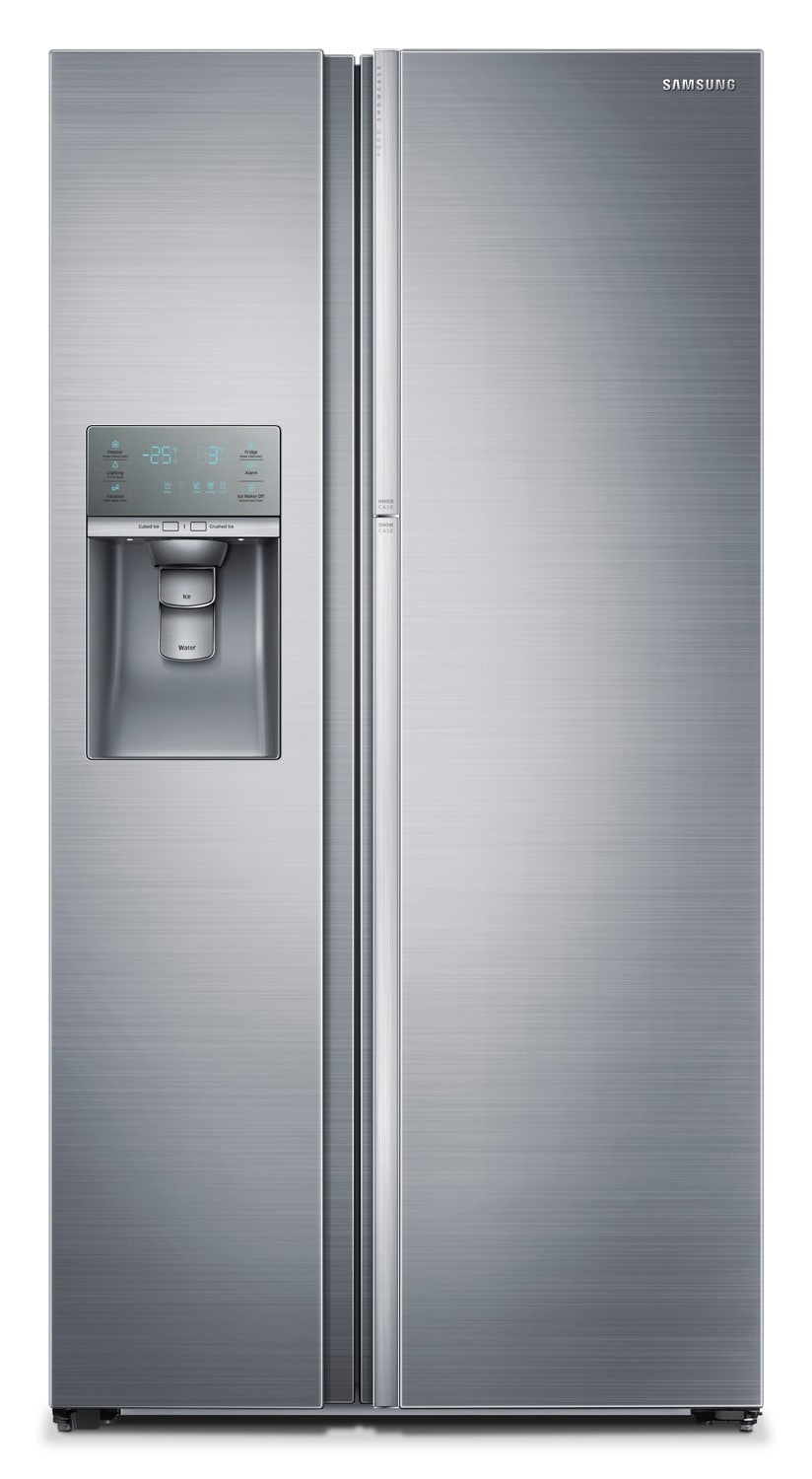 Refrigerators and Freezers - Samsung Stainless Steel Side-by-Side Refrigerator (22 Cu. Ft.) - RH22H9010SR/AA