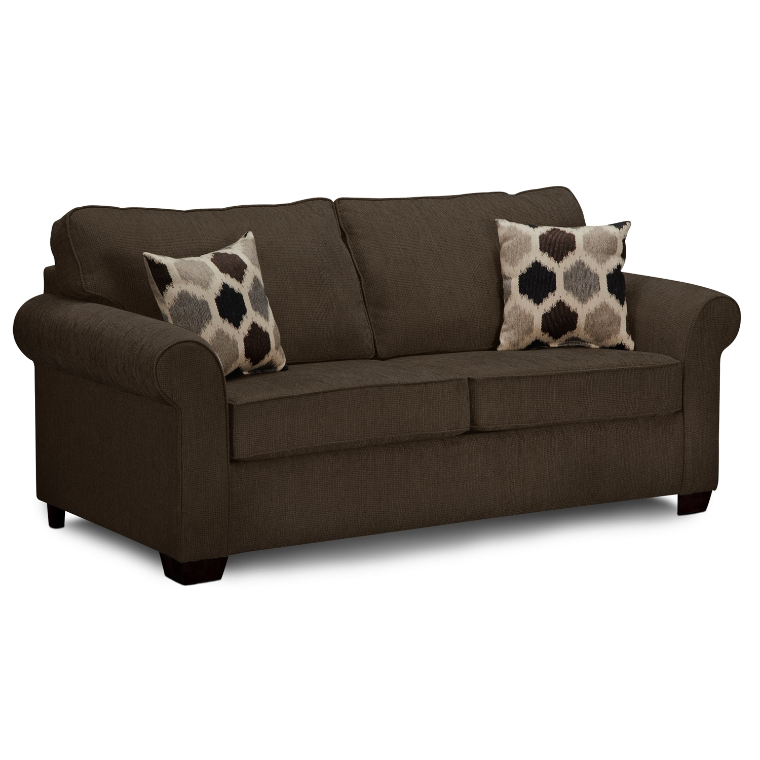 Fletcher Ii Upholstery Full Sleeper Sofa Value City Furniture