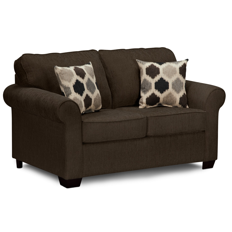 signature furniture fletcher ii upholstery twin sleeper sofa
