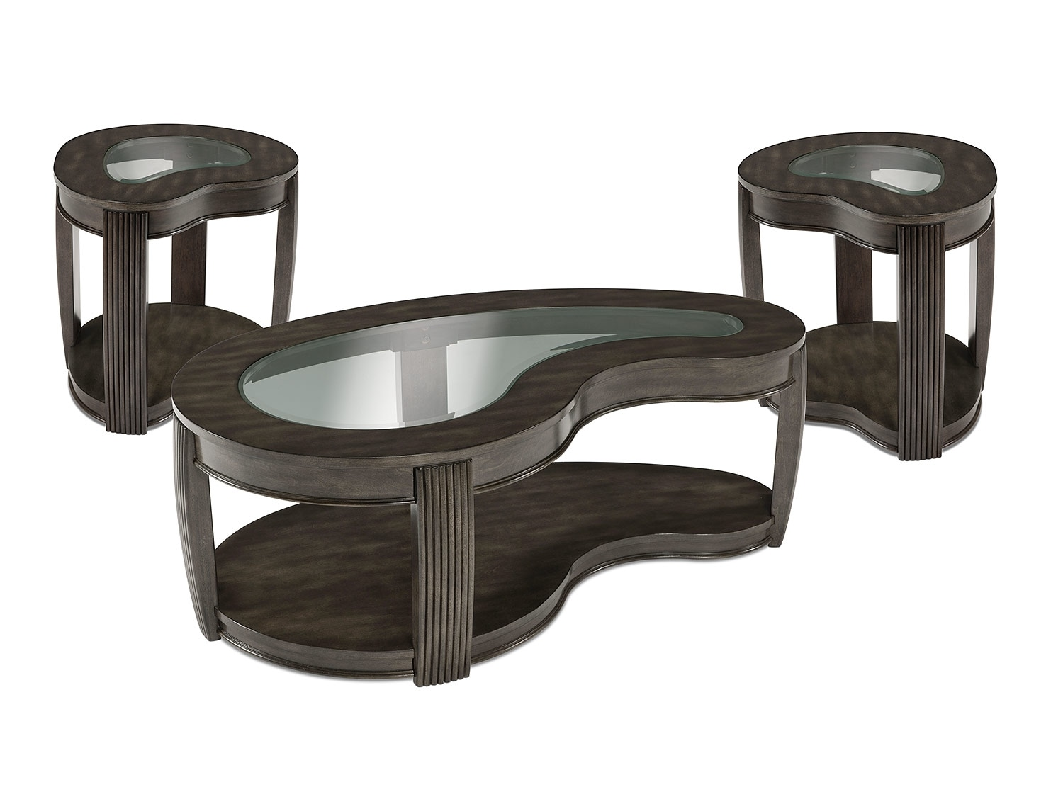 Accent and Occasional Furniture - Endura Coffee Table & Two End Tables Set