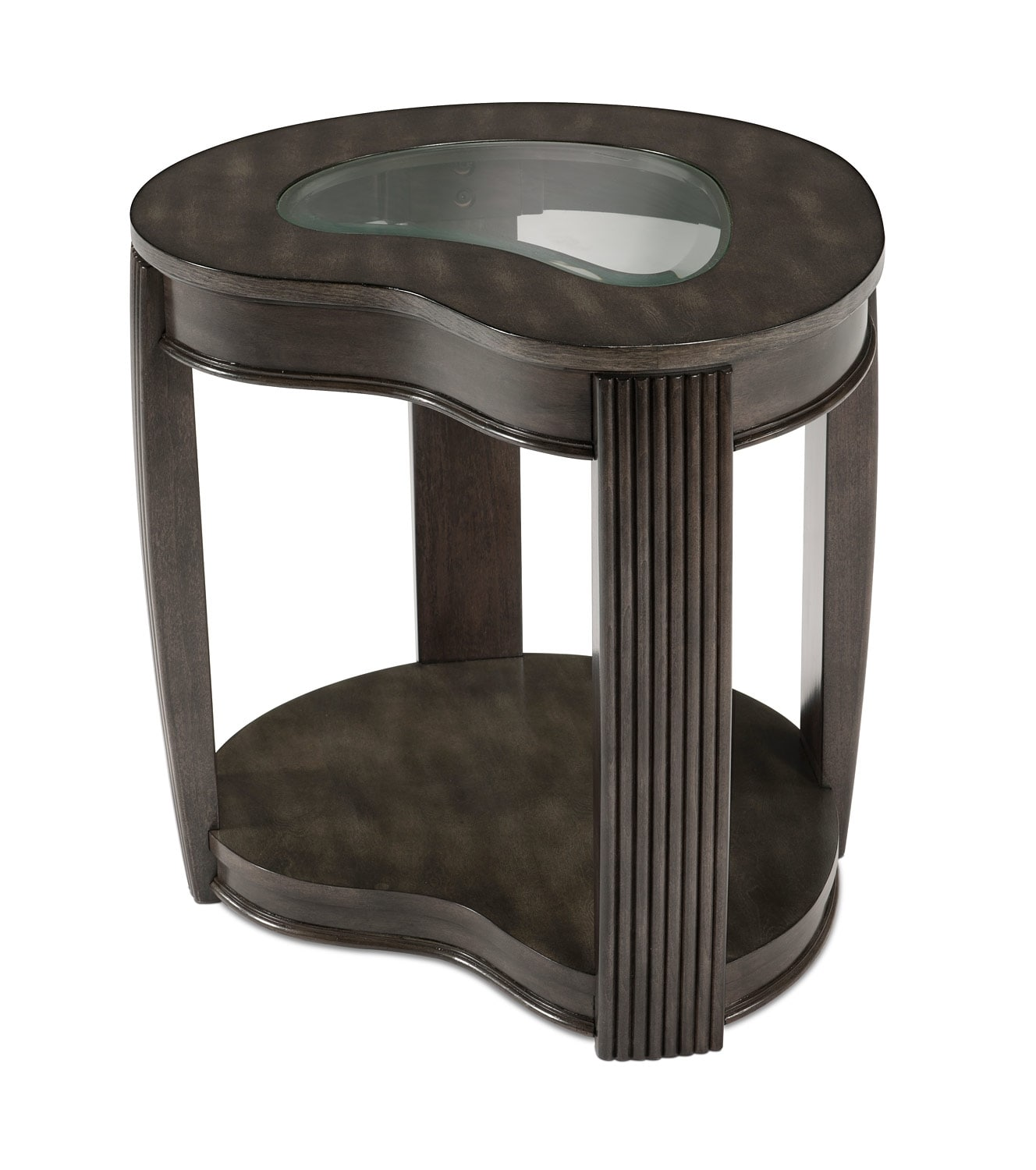 Accent and Occasional Furniture - Endura End Table - Platinum Charcoal