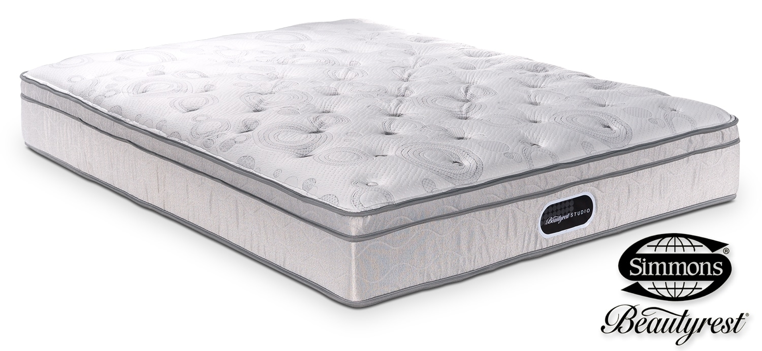 Mattresses and Bedding - Simmons Studio Bryce Plush Queen Mattress