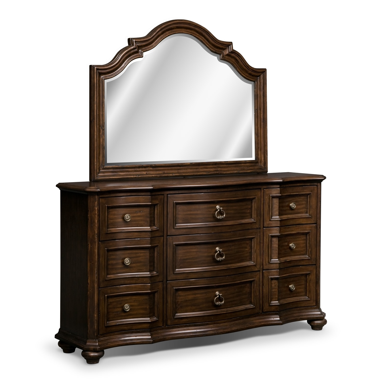 bedroom furniture ashworth dresser mirror