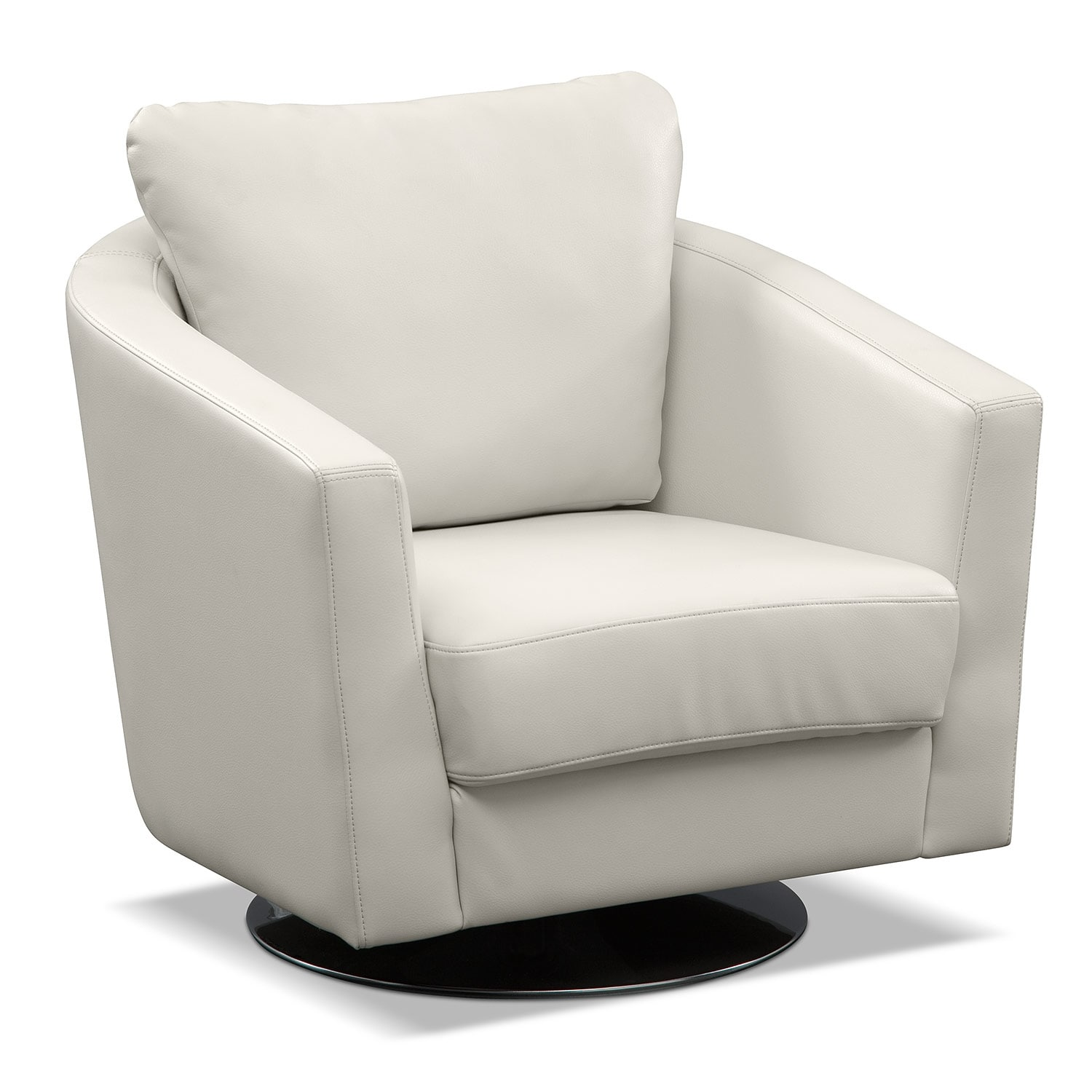image gallery leather swivel arm chairs