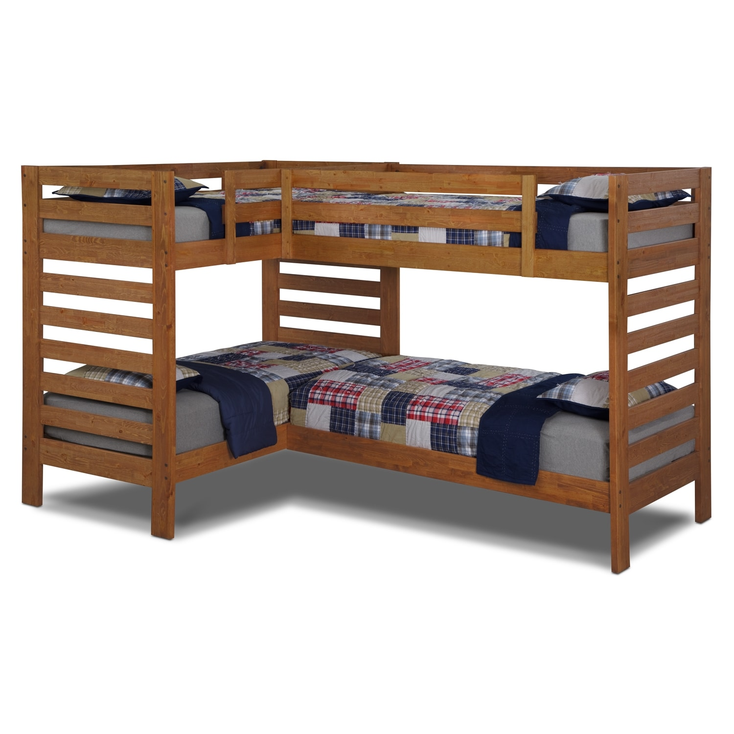 Double Twin Bunk Bed 1500 x 1500