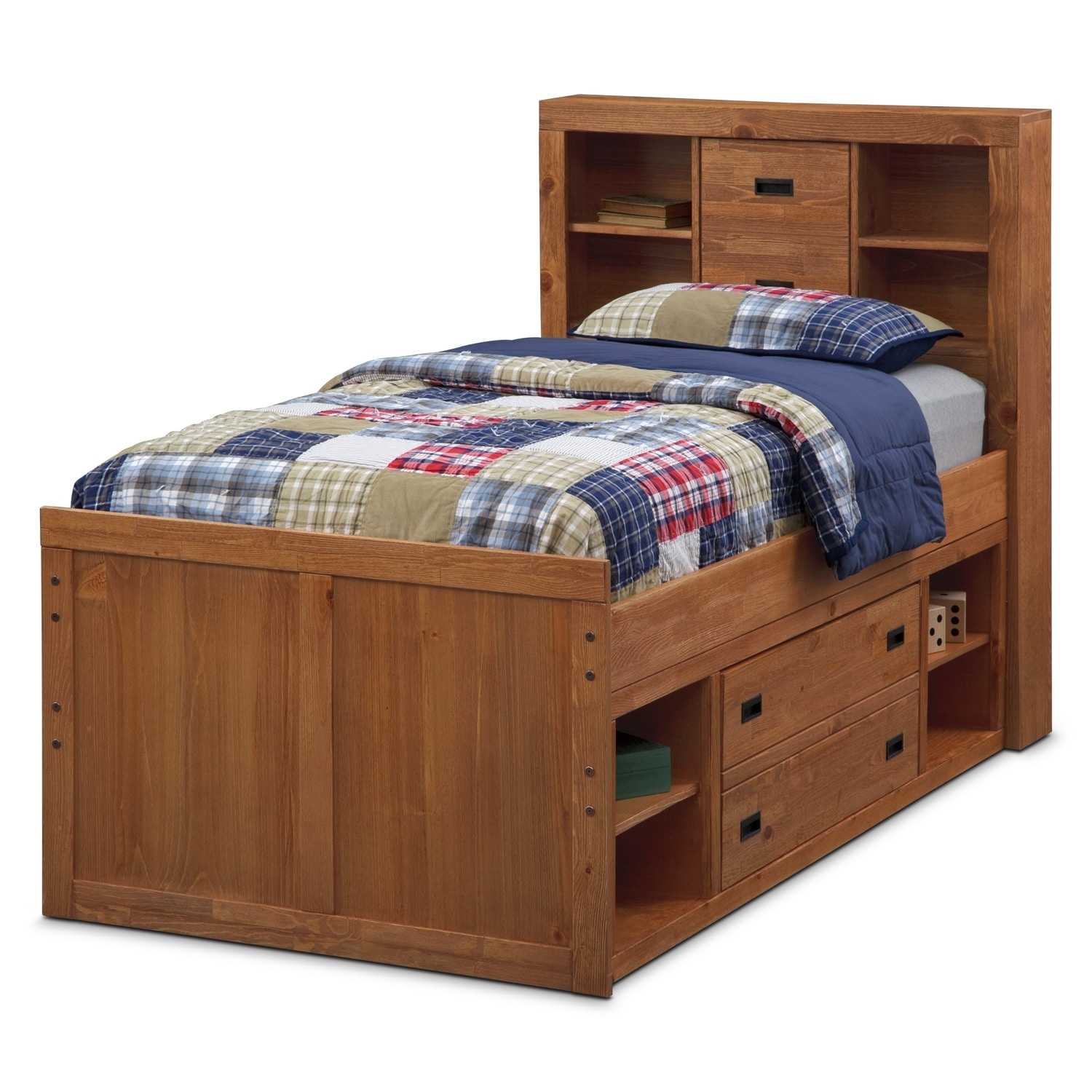 Captain twin bed for Captains bed