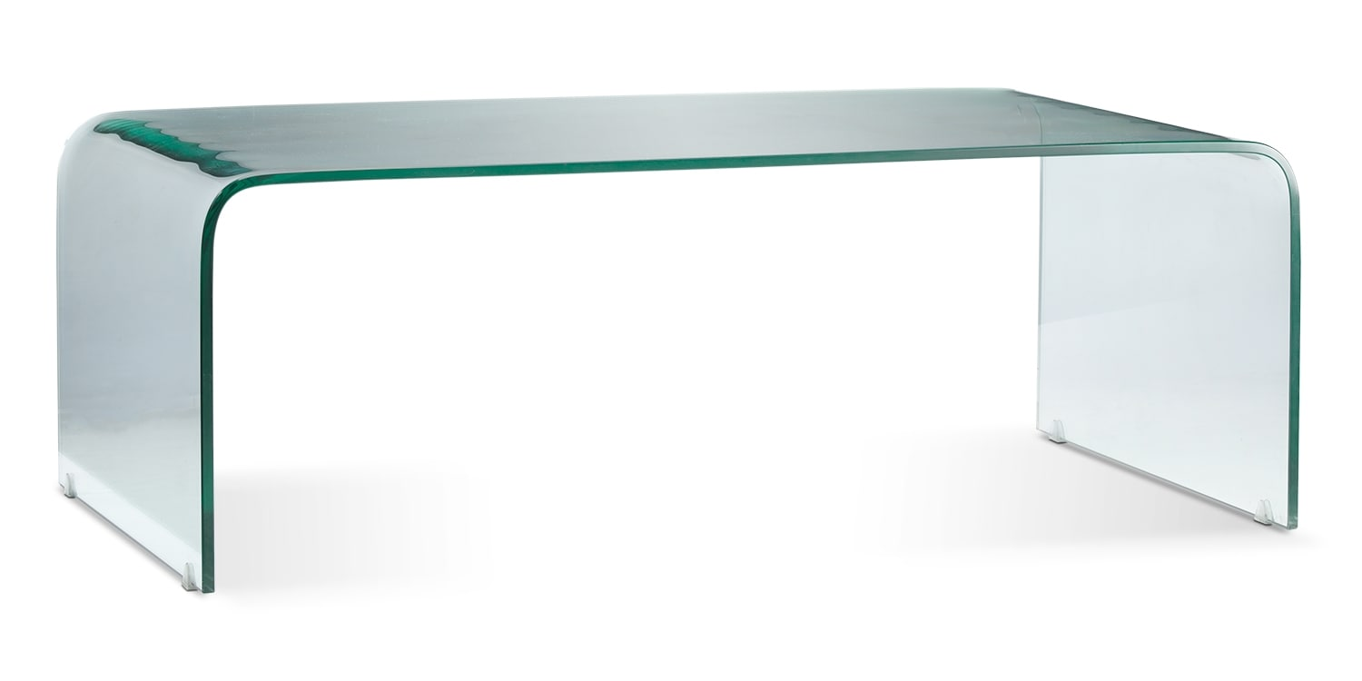 Flow Coffee Table - Clear