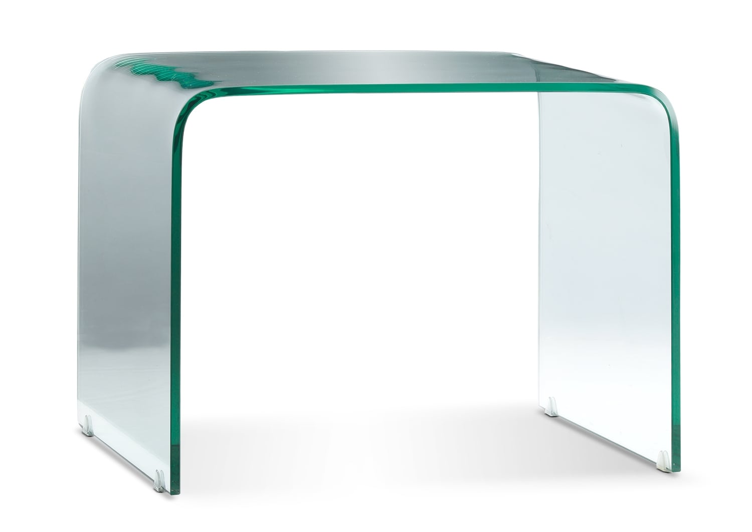 Flow End Table - Clear