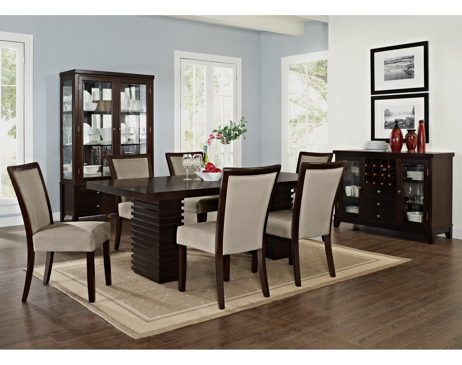 Dining Room Furniture - The Costa Karmon Stone Collection - Table