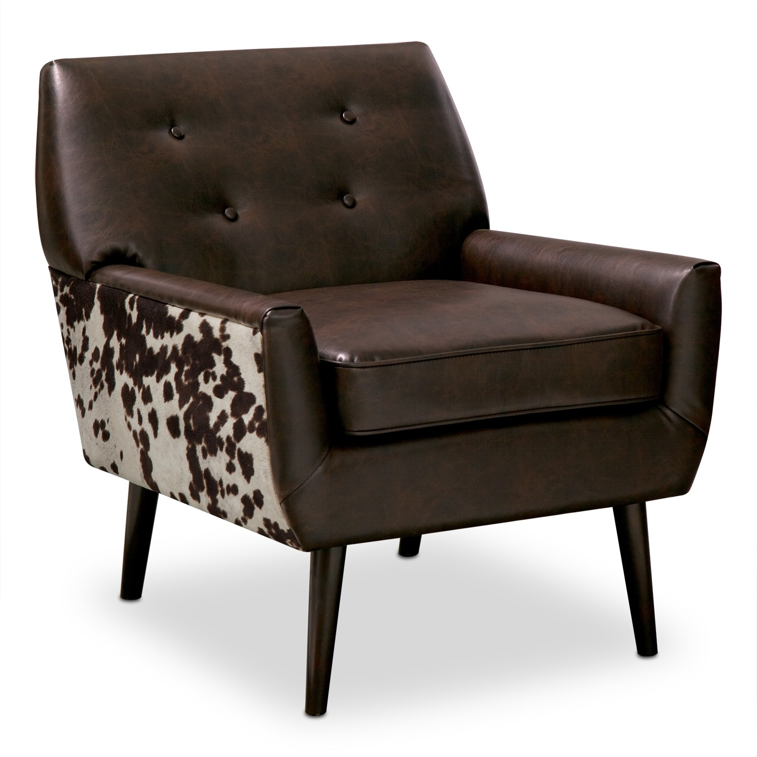 Madeline Ii Leather Accent Chair Value City Furniture