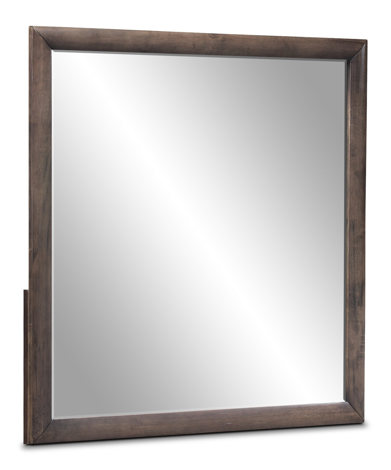 Bedroom Furniture - Winston Mirror - Weathered Grey