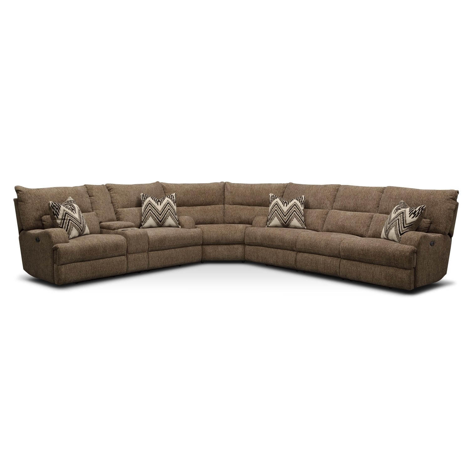 [Sundance 3 Pc. Power Reclining Sectional]