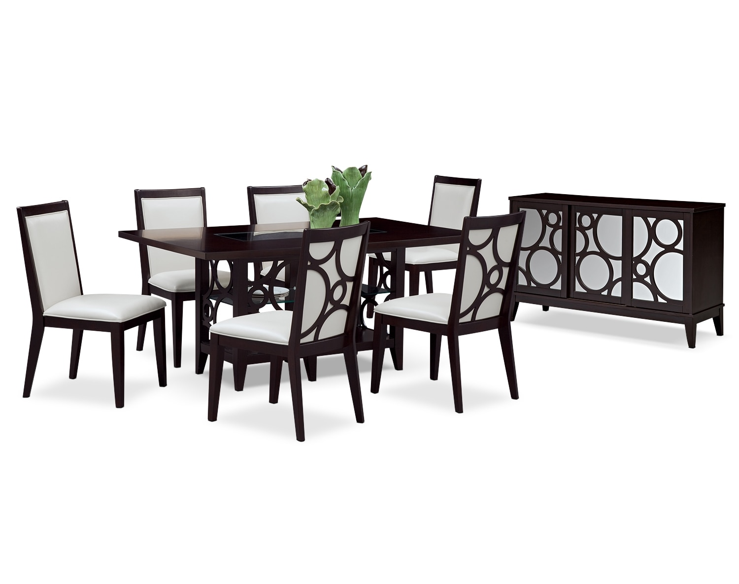 Dining Room Furniture - The Brighton Pearl Collection - Side Chair