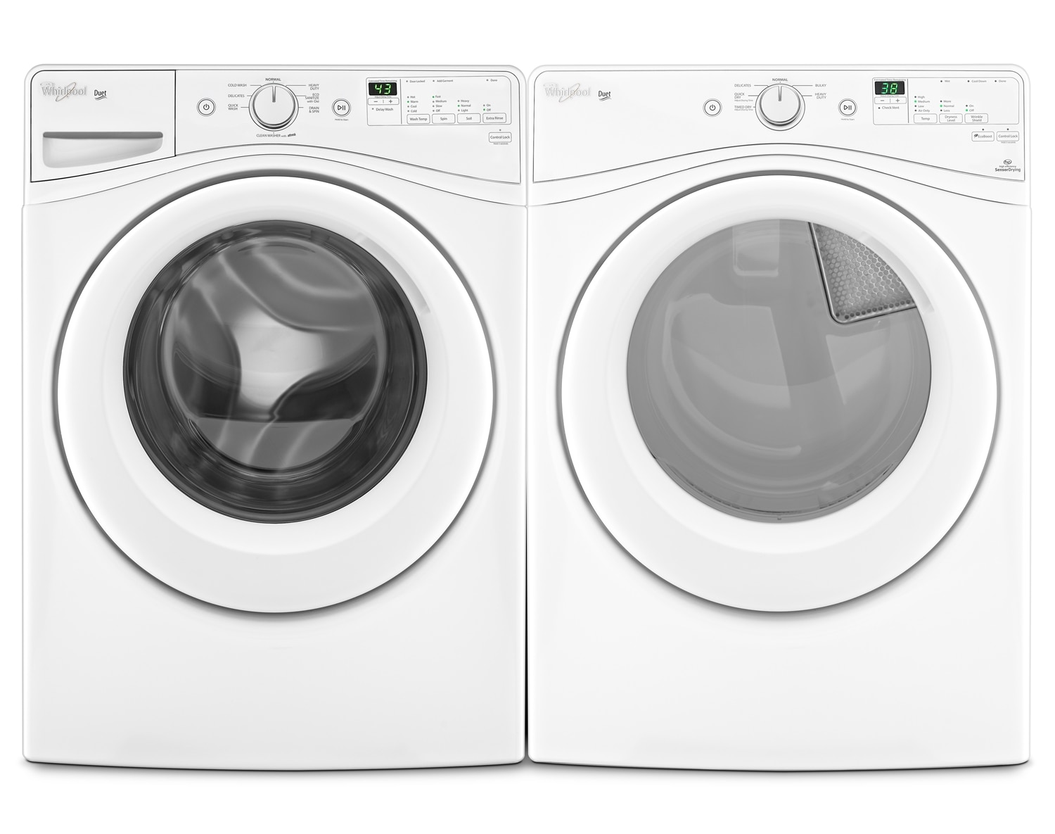 Whirlpool Laundry - WFW72HEDW/YWED72HEDW