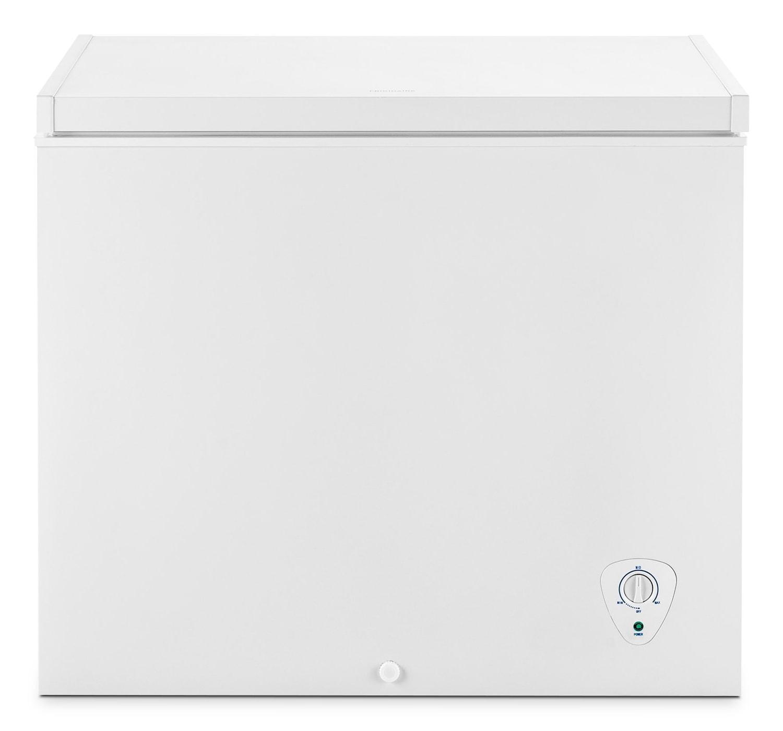 Refrigerators and Freezers - Frigidaire White Chest Freezer (7.2 Cu. Ft.) - FFFC07M1QW