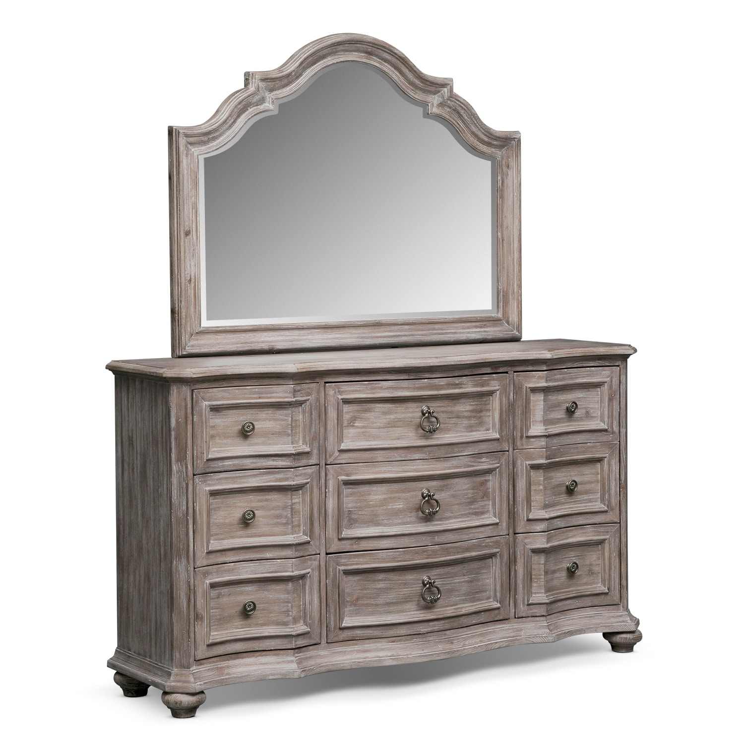 bedroom furniture ashworth ii dresser mirror