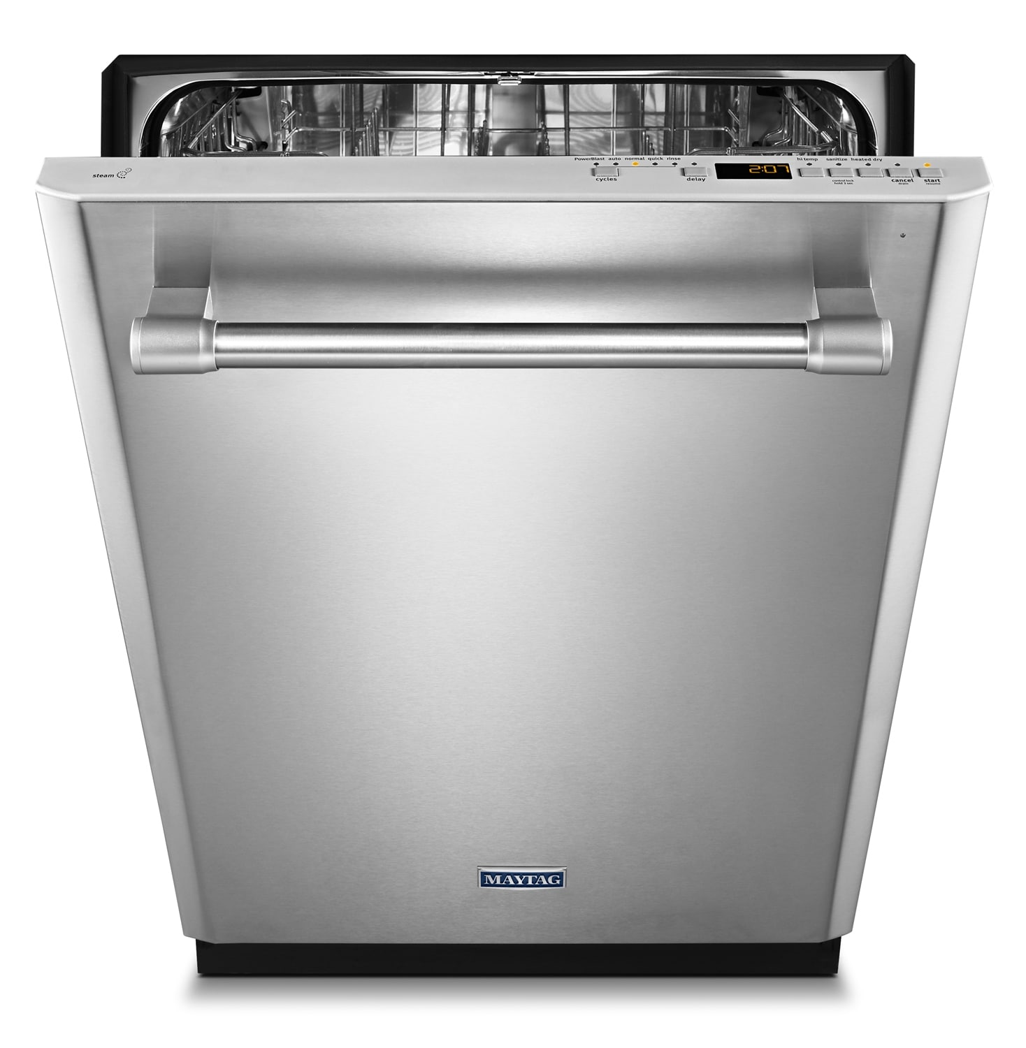 "Clean-Up - Maytag Stainless Steel 24"" Dishwasher - MDB8969SDM"
