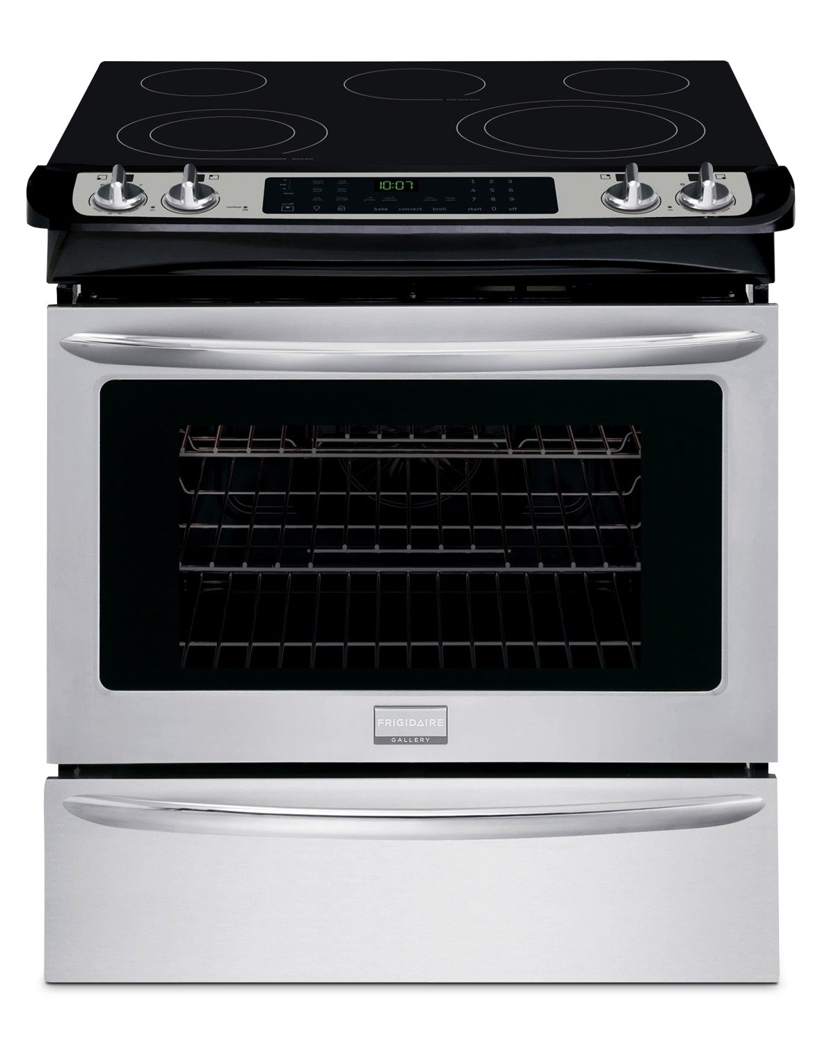 Cooking Products - Frigidaire Stainless Steel Slide-In Electric Range (4.6 Cu. Ft.) - 1606866