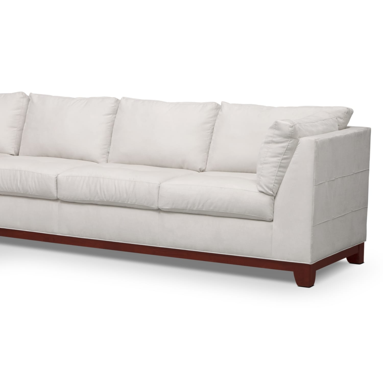 Soho 2 piece sectional with left facing chaise cement for 2 piece sectionals with chaise