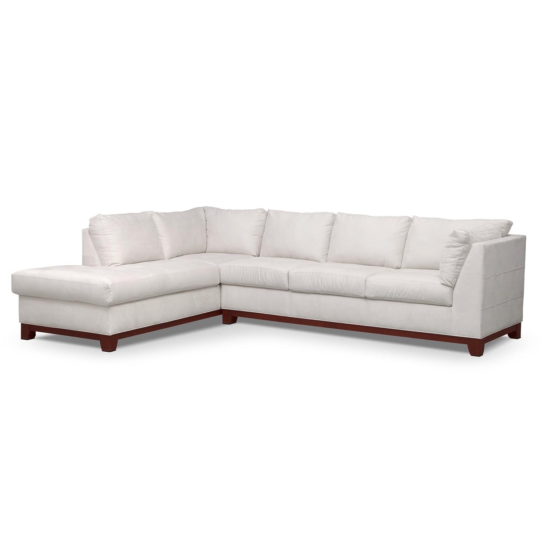 Soho Iii 2 Pc Sectional Reverse Value City Furniture