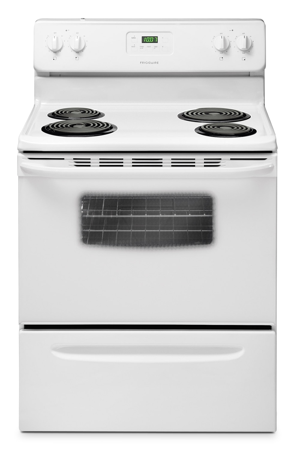 Frigidaire White Freestanding Electric Range (4.8 Cu. Ft.) - CFEF3012PW