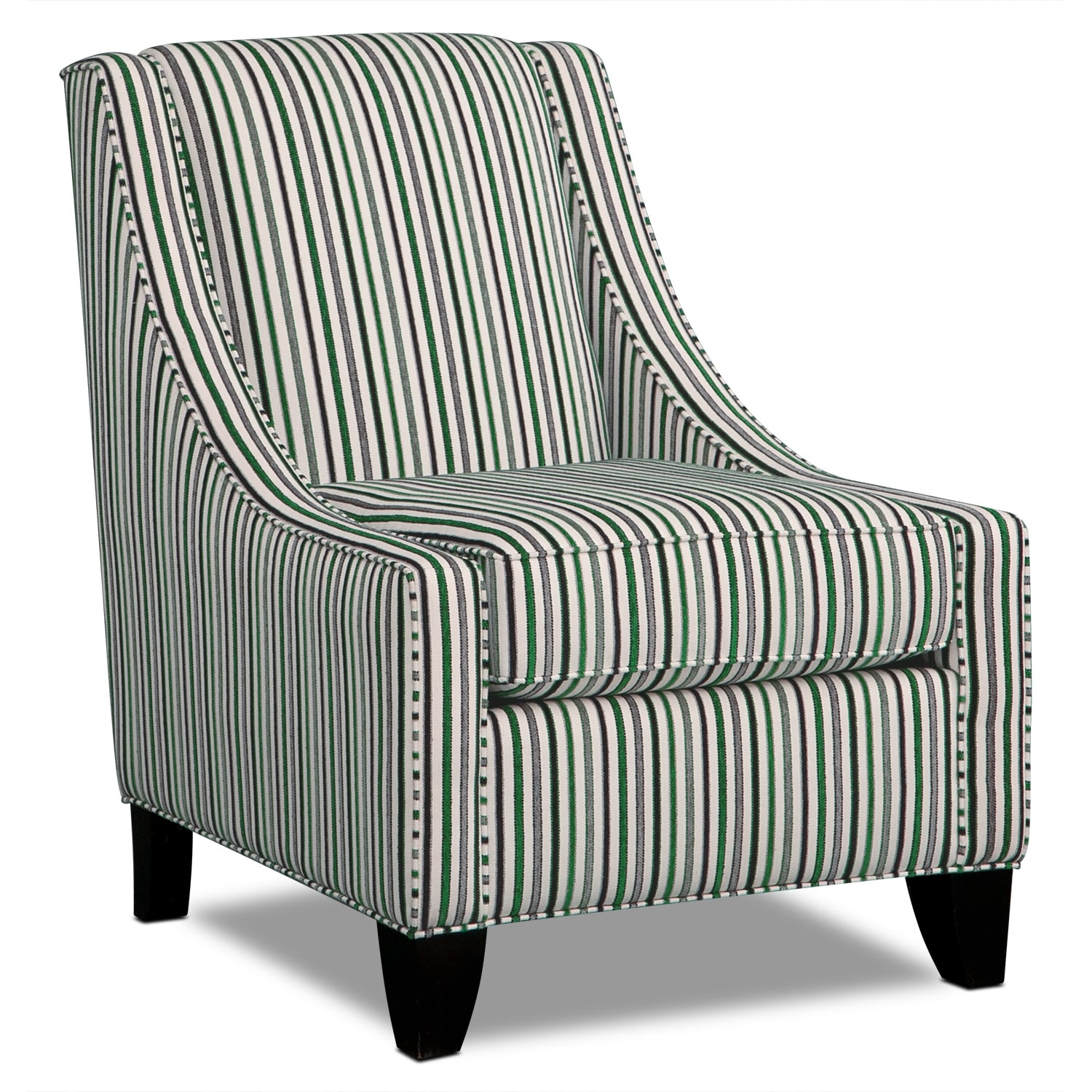 alexandria 3 pc living room w accent chair